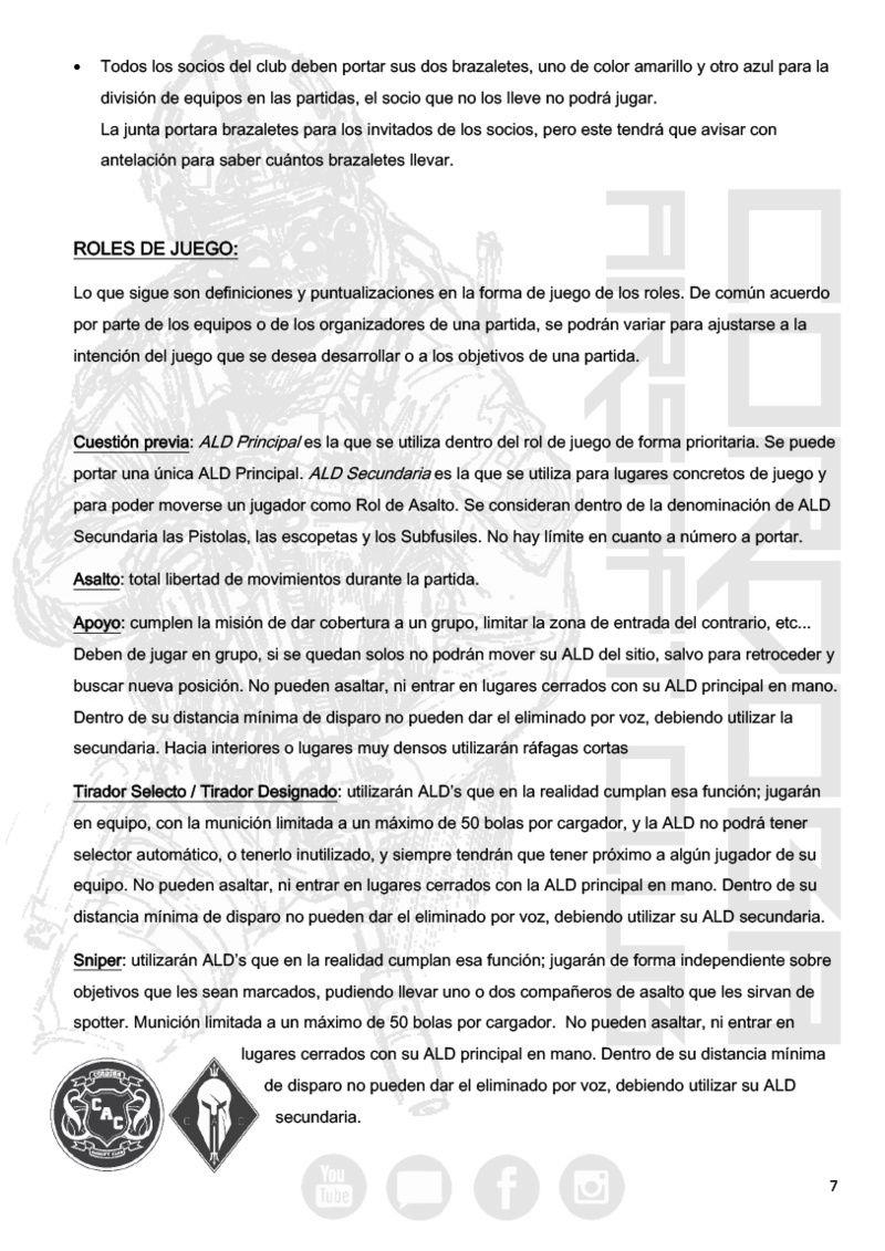 REGLAMENTO COMPLETO CAC Normat15