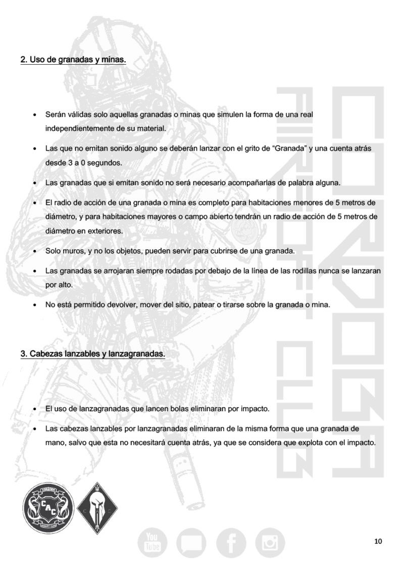 REGLAMENTO COMPLETO CAC Normat17