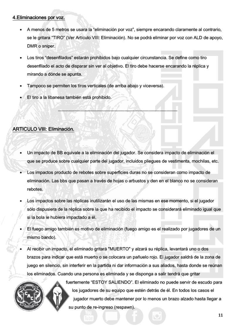 REGLAMENTO COMPLETO CAC Normat18