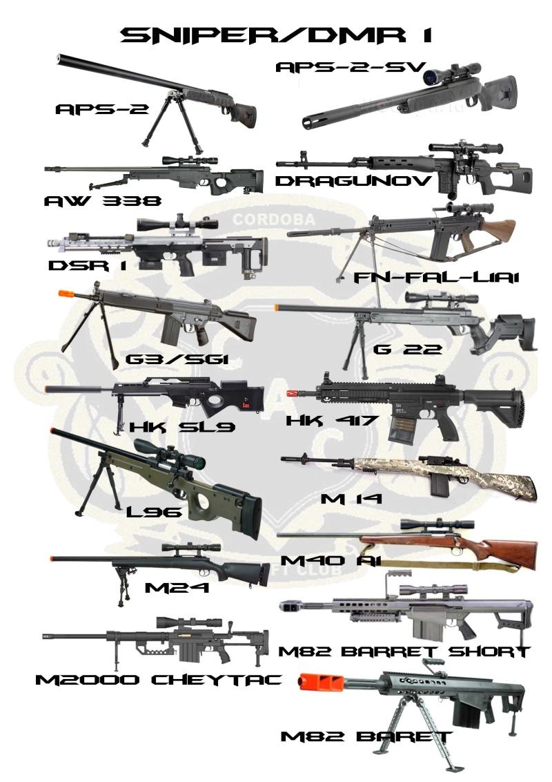 REGLAMENTO COMPLETO CAC Sniper10