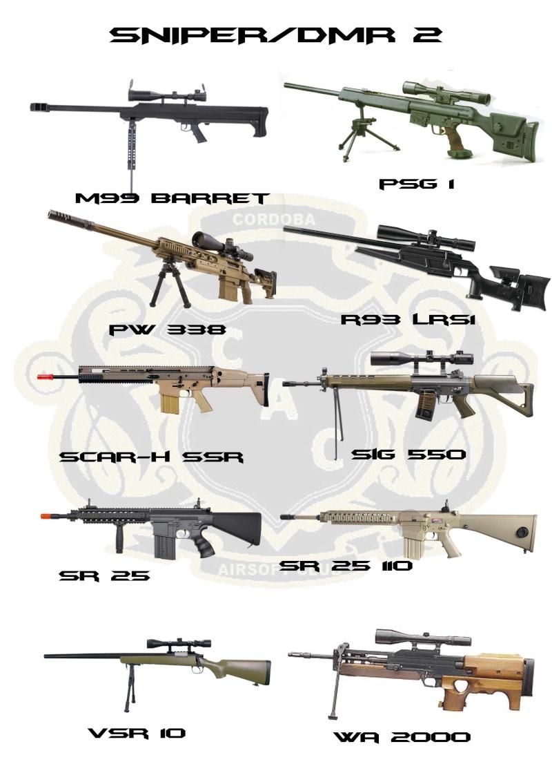 REGLAMENTO COMPLETO CAC Sniper11