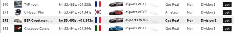 eSports WTCC time attack  Captur11