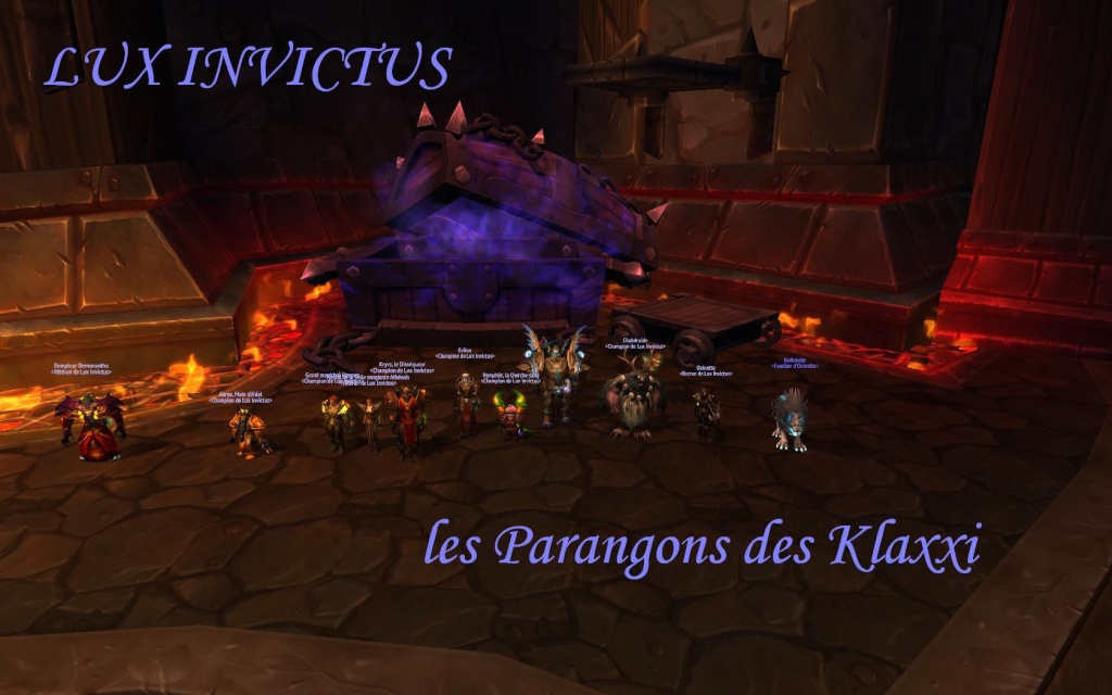 Lux Invictus, guilde PvE, alliance Archimonde Europe - Portail Wowscr15