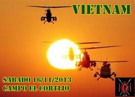 VIETNAM SABADO 16/11/2013 CAMPO EL CORTIJO Cartel12
