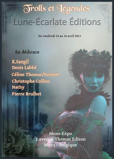 Le clan Tarran / Tome 1 - 2 et 3 (La Romancière / L'Aînée/ Le Damné) [Edition Lune-Ecarlate] - Page 2 Affich10