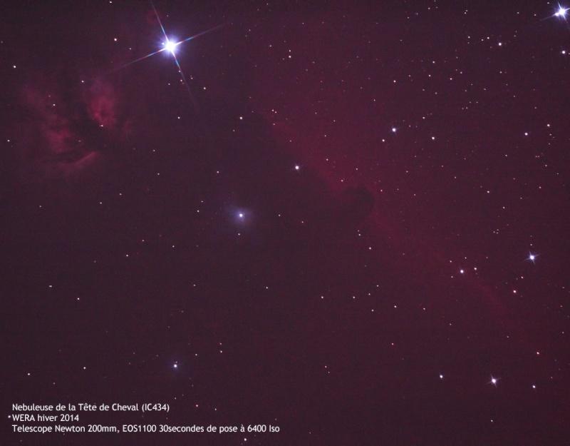 Compte rendu du Week End Rencontre Astro (WERA) d'hiver 2014 Ic43410