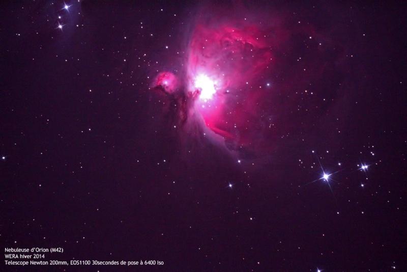 Compte rendu du Week End Rencontre Astro (WERA) d'hiver 2014 M4210