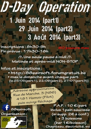 D-Day Operation Affich12