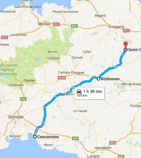 Urgent!! cherche Co-voiturage chat de fourrière de st Germain du pinel à Concarneau pour le 19/05! Concar10