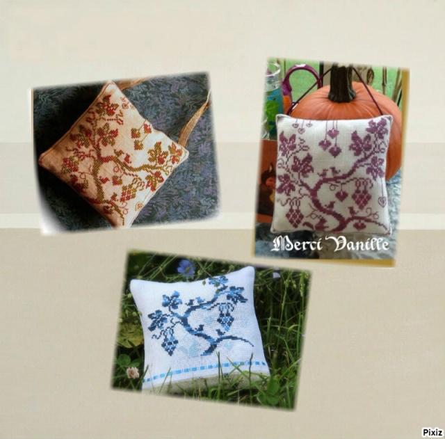 Echange d'automne : un coussinet brodé en soie  **PHOTOS** Modale10