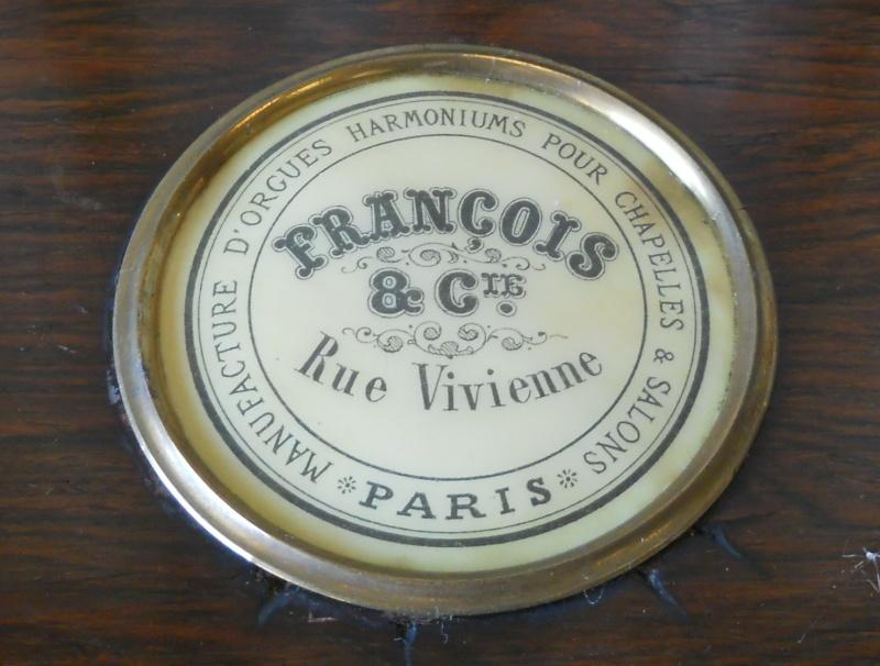 """Harmonium - 6 Jeux avec Percussion - """"Francois & Cie., Paris"""" Marque10"""