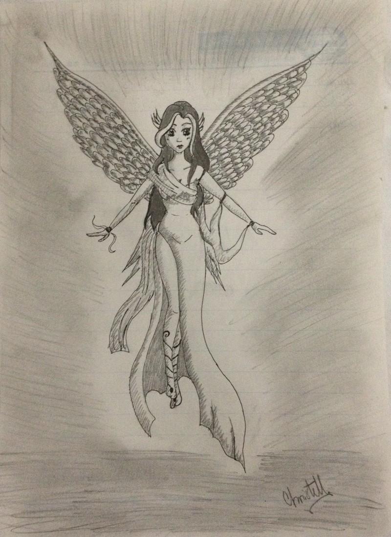 Quelques petits dessins fait par moi ! :3 Ange_c10