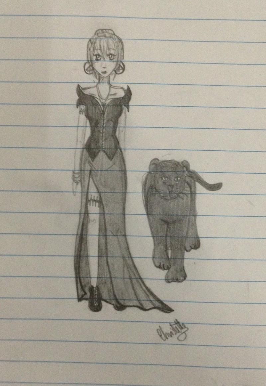 Quelques petits dessins fait par moi ! :3 Femme_11