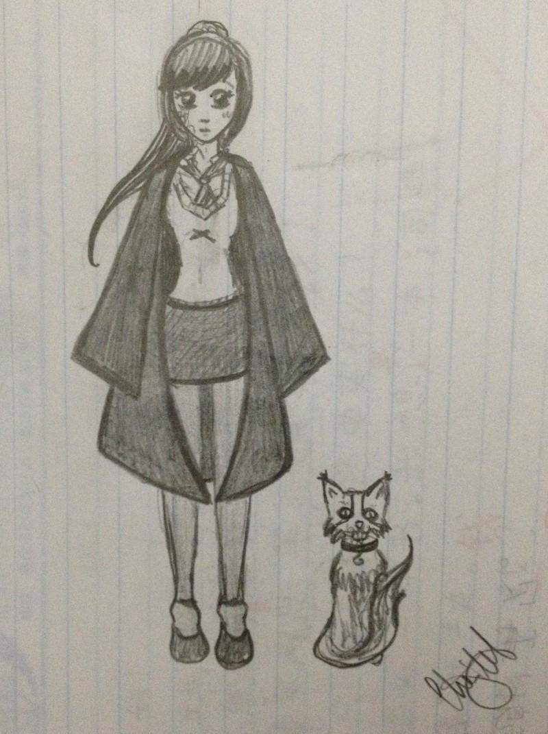 Quelques petits dessins fait par moi ! :3 Sorcia10