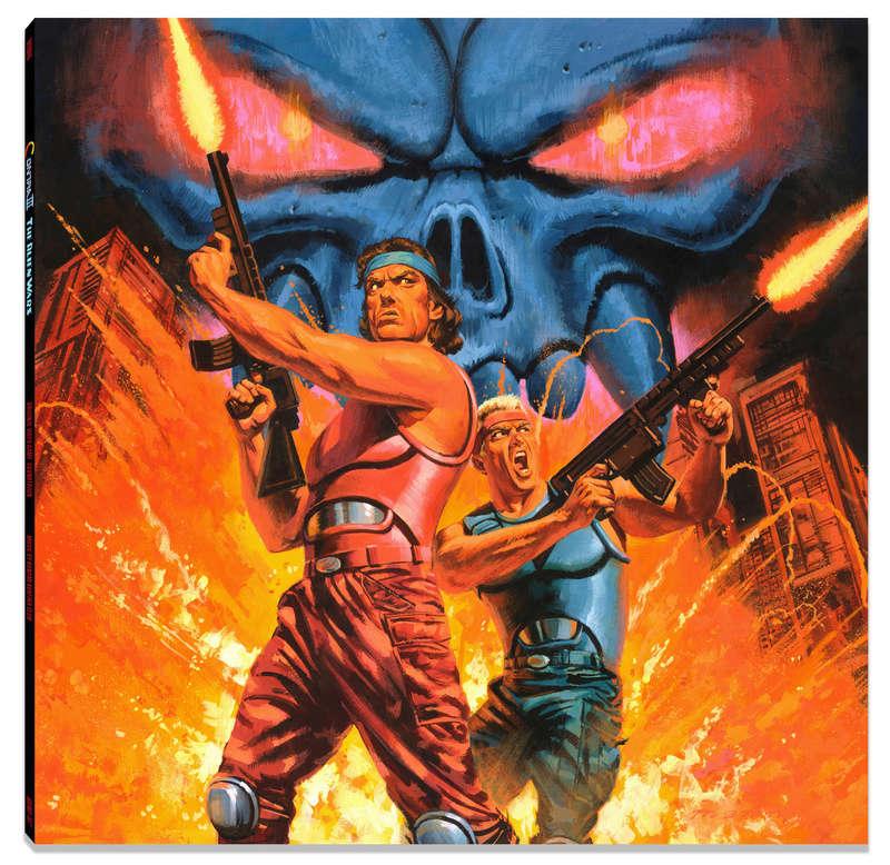 Vinyl DATA DISCS Galaxy Force II & Thunder Blade et CONTRA 3 Contra10