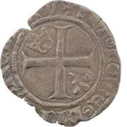 Duc de Bourgogne (au nom de Charles VI) - Demi-guénar de Mâcon, 3e émission.  Macon_11