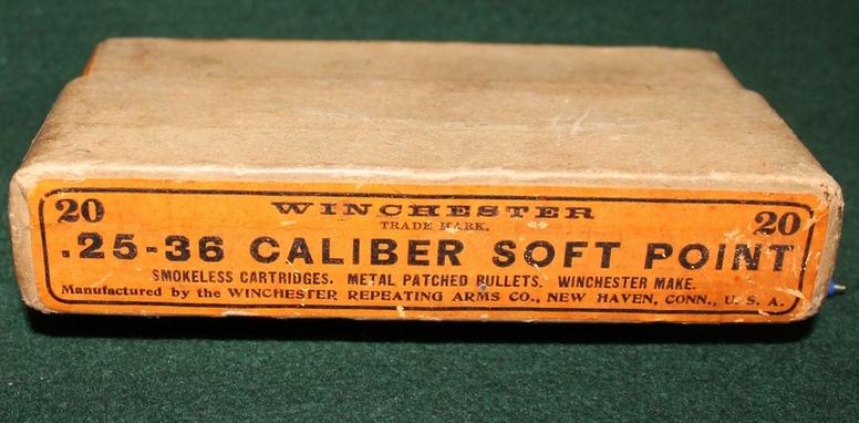 une boîte RARE de cartouches 25-36 MARLIN 25-36_11