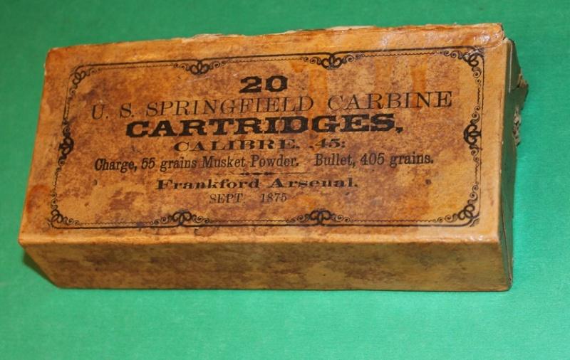 Box 45-55 US CAVALRY TRAPDOOR CARBINE  45-55_10