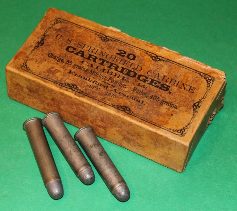 Box 45-55 US CAVALRY TRAPDOOR CARBINE  45-55_12