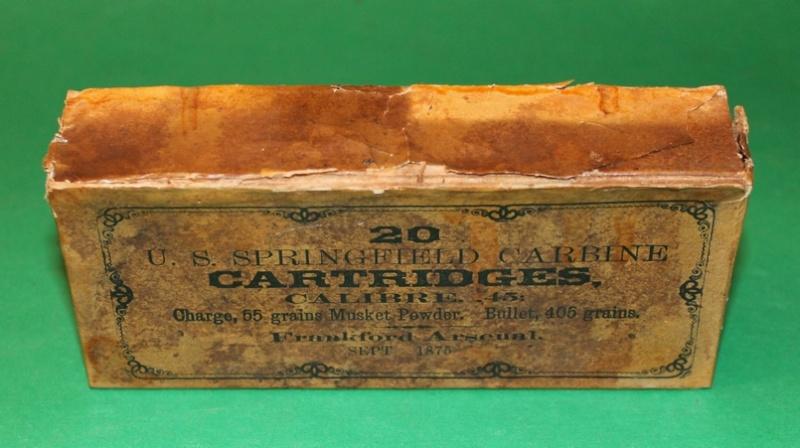 Box 45-55 US CAVALRY TRAPDOOR CARBINE  45-55_14