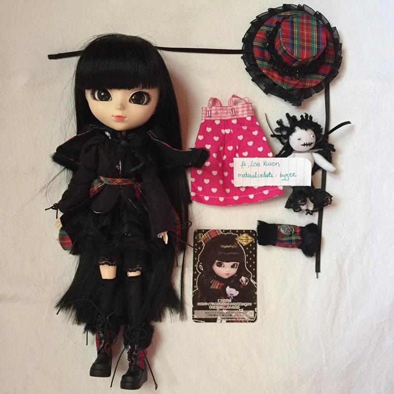[VTS] Pullip FANATICA REGENERATION (obitsu+outfit) BAISSE  V1111