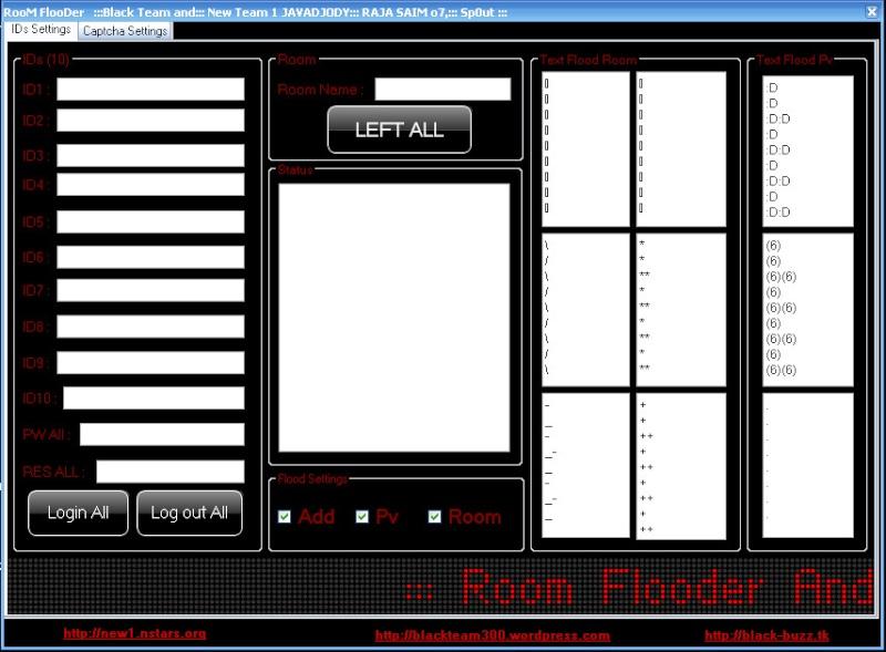 Room+Add+Pvt Flooder By BlackTeam & NewTeam1  F110