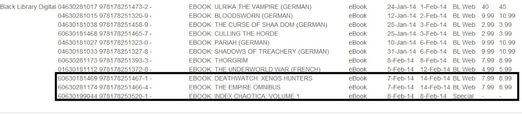 Programme des publications The Black Library 2014 - UK - Page 4 Sans_t26