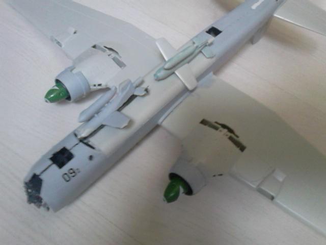 Luftwaffe 46 et autres projets de l'axe à toutes les échelles(Bf 109 G10 erla luft46). Dsc_4123