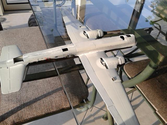 Luftwaffe 46 et autres projets de l'axe à toutes les échelles(Bf 109 G10 erla luft46). Dsc_4129
