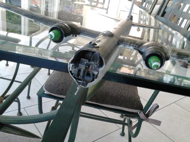 Luftwaffe 46 et autres projets de l'axe à toutes les échelles(Bf 109 G10 erla luft46). Dsc_4130