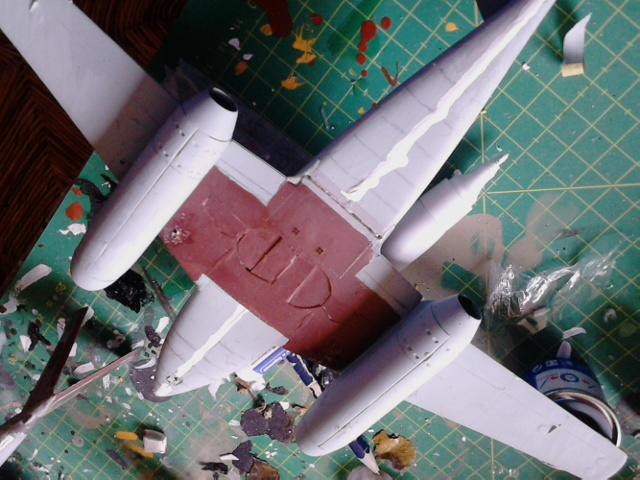 Luftwaffe 46 et autres projets de l'axe à toutes les échelles(Bf 109 G10 erla luft46). Dsc_4141