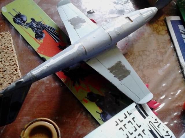 Luftwaffe 46 et autres projets de l'axe à toutes les échelles(Bf 109 G10 erla luft46). Dsc_4142