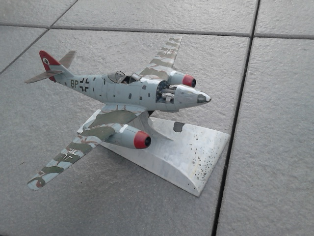 Luftwaffe 46 et autres projets de l'axe à toutes les échelles(Bf 109 G10 erla luft46). Dsc_4148