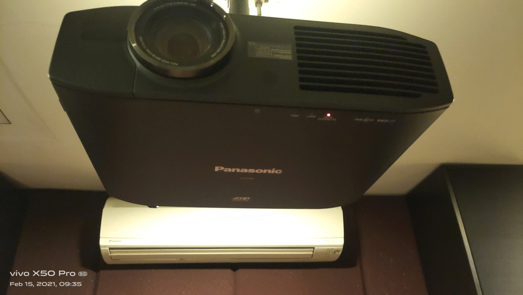 Panasonic Home Theater Projector PT-AE7000  112