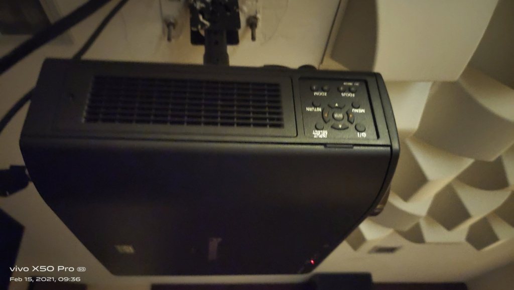 Panasonic Home Theater Projector PT-AE7000  212