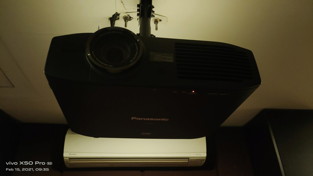 Panasonic Home Theater Projector PT-AE7000  311
