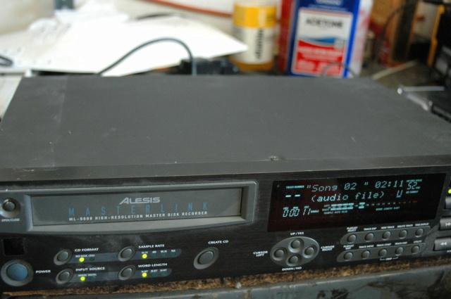 Alesis ML-9600 Masterlink CD Master Disk Recorder sold Alesis10