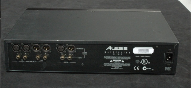 Alesis ML-9600 Masterlink CD Master Disk Recorder sold Alesis13