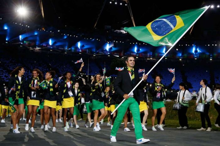 Los 10 países Latinoamericanos con mayor cantidad de Medallas Olímpicas. Brasil10