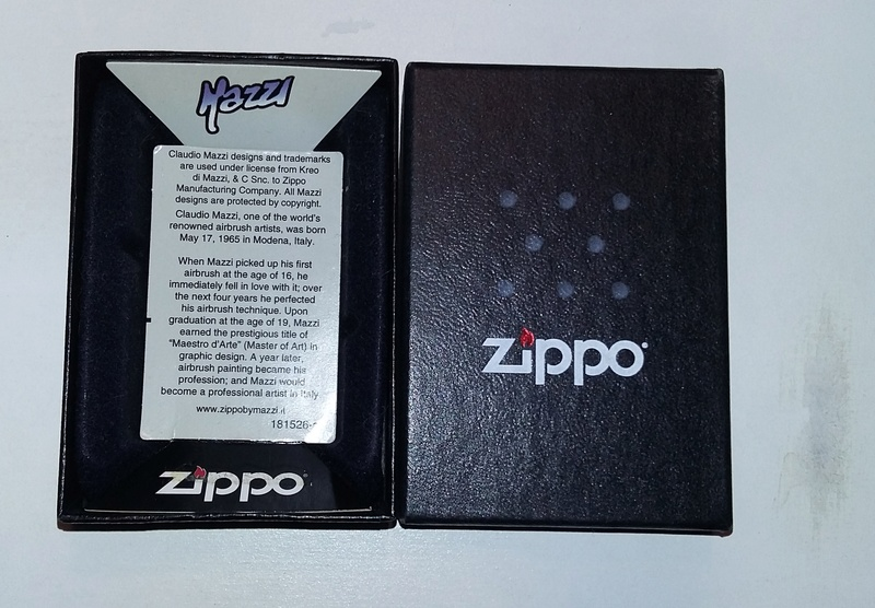 Les boites Zippo au fil du temps - Page 3 Mazzi_10