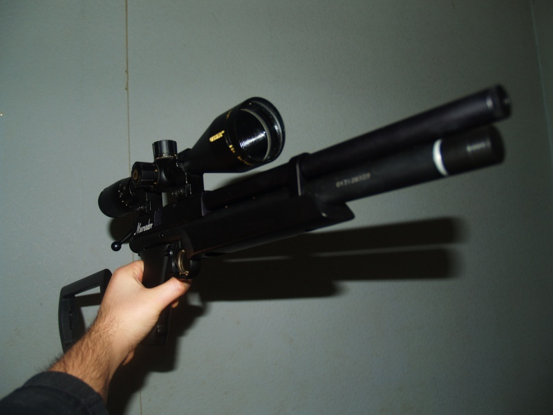 Benjamin marauder pistol .22 (+photos) P1011811