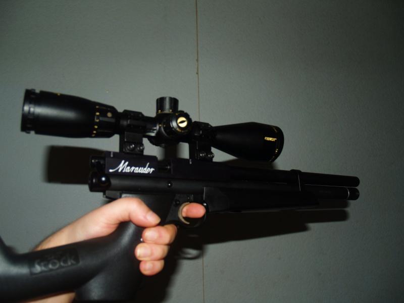 Benjamin marauder pistol .22 (+photos) P1011813