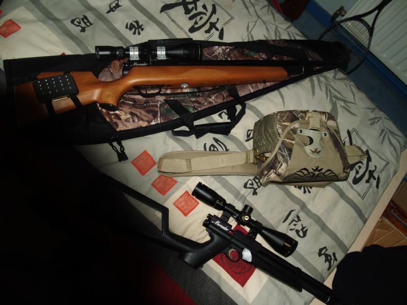 Benjamin marauder pistol .22 (+photos) P1011816