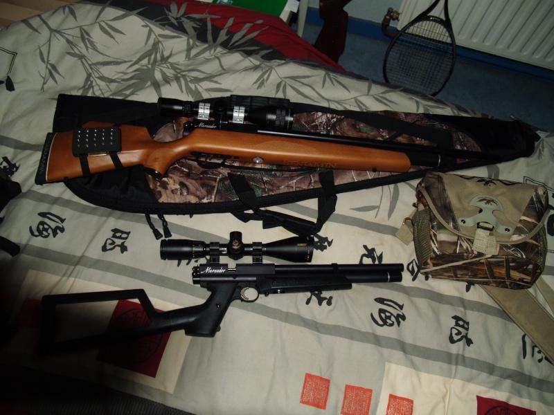 Benjamin marauder pistol .22 (+photos) P1011817
