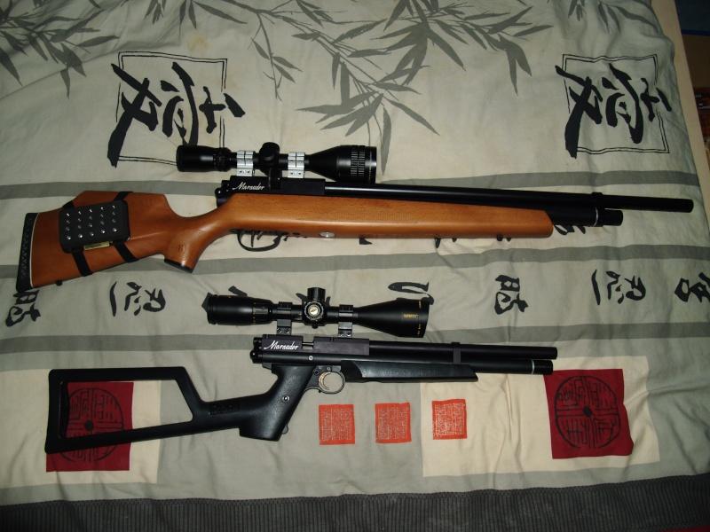 Benjamin marauder pistol .22 (+photos) P1011818