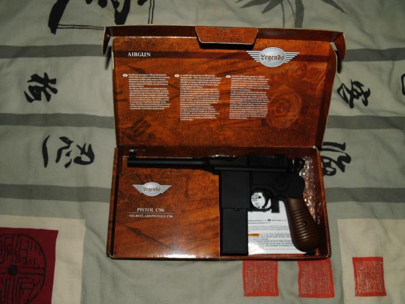 Benjamin marauder pistol .22 (+photos) P1011821