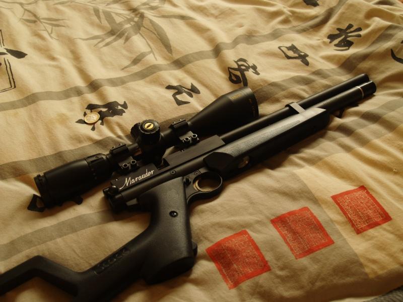 Benjamin marauder pistol .22 (+photos) P1011915