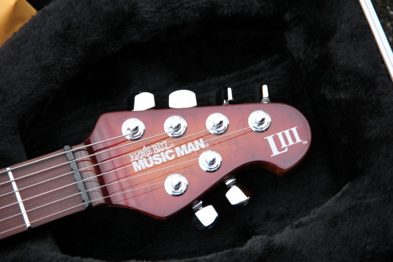 MUSICMAN LUKE 3 EDITION LIMITEE 2012 ACAJOU Luke3811