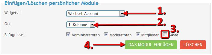 [Tutorial] Modul für Wechsel-Accounts / Charakterswitch Switch11