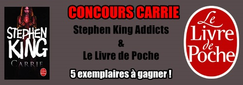 Concours Carrie : 5 exemplaires à gagner ! Affich10
